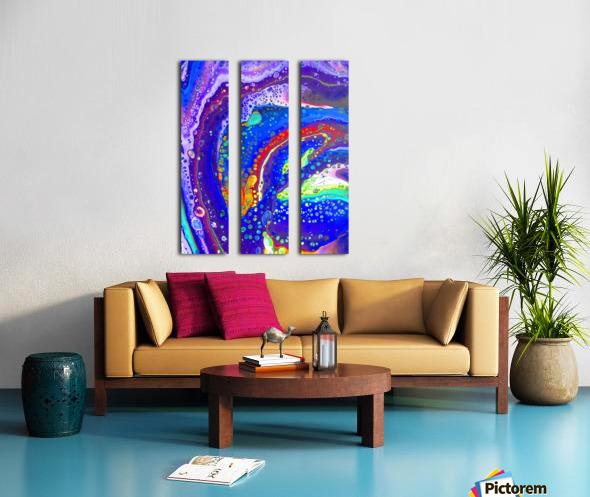 Tropical Bliss Split Canvas print