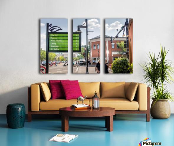 DowntownStAlbert_IMG_4484 Split Canvas print