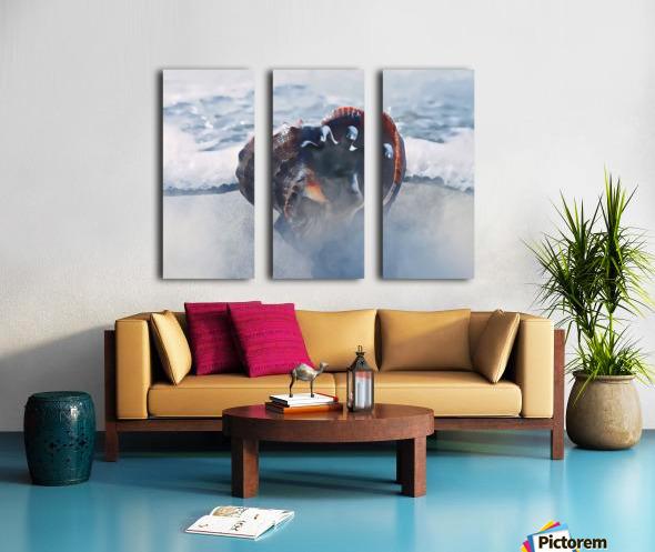 By The Dead Sea Split Canvas print
