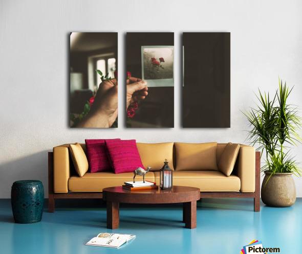 Surrealism Split Canvas print