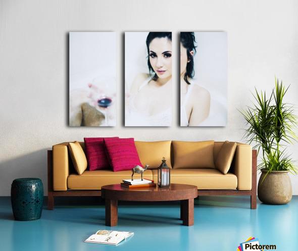Invite Split Canvas print