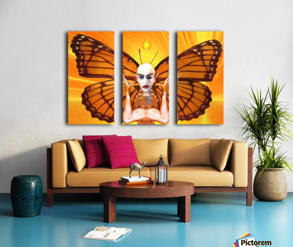 Metamorphosis of Nosferatu Split Canvas print