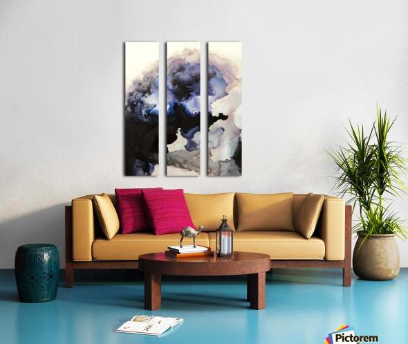 Electric Sky Split Canvas print