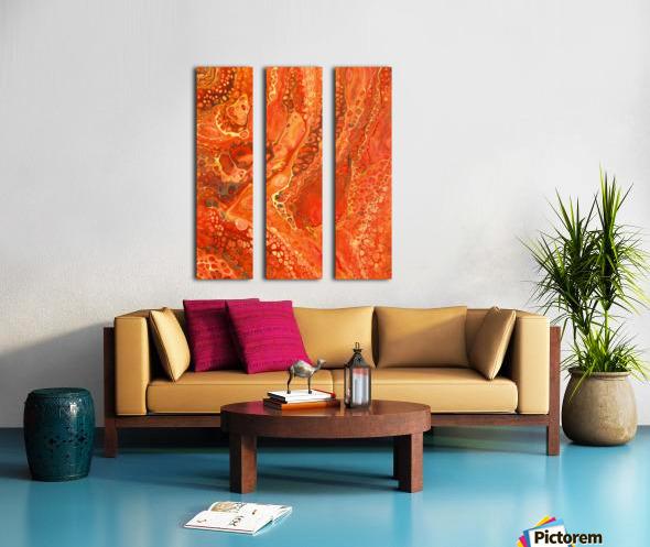 Kalahari Desert Split Canvas print