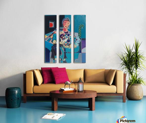 Sentinelle de la Paix Split Canvas print