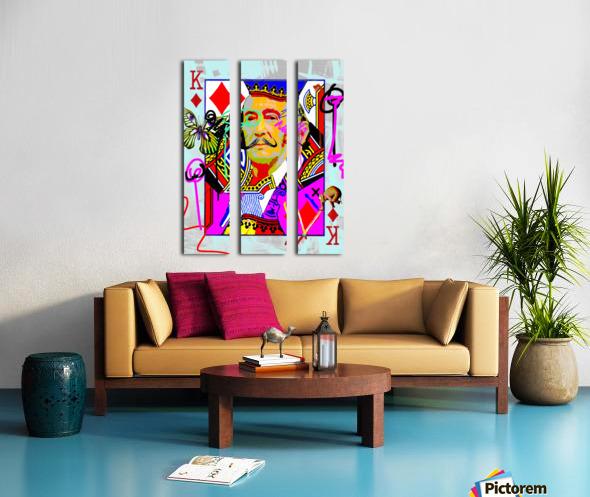 K of Dali Split Canvas print