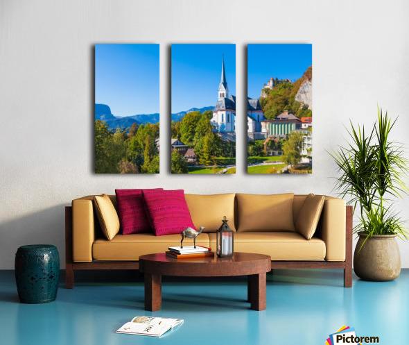 BLED 10 Split Canvas print