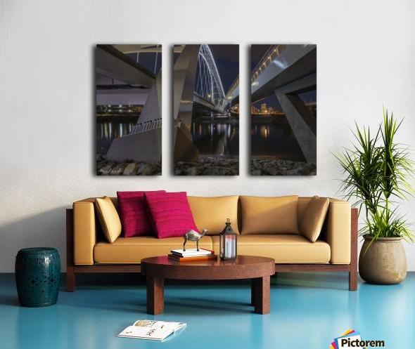 WalterdaleBridge_DSC4252 Split Canvas print