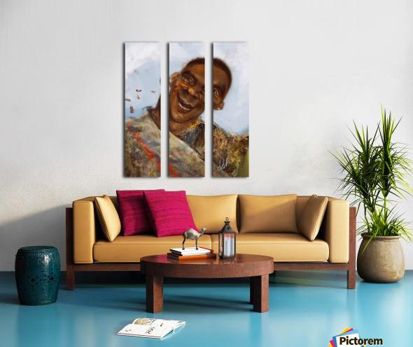 Boyo-Boyo Split Canvas print