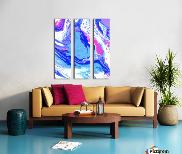 Lucy in the Sky with Diamonds Split Canvas print