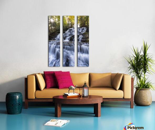 Trahlyta Waterfall Split Canvas print