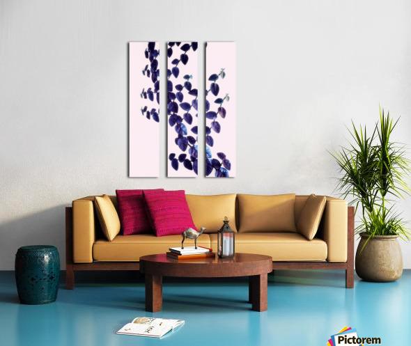 Bindweed in Violet Split Canvas print