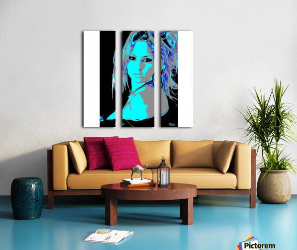 A Pretty Girl by neil gairn adams  Split Canvas print