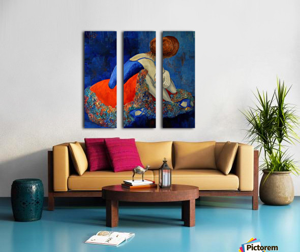 Ballet Split Canvas print