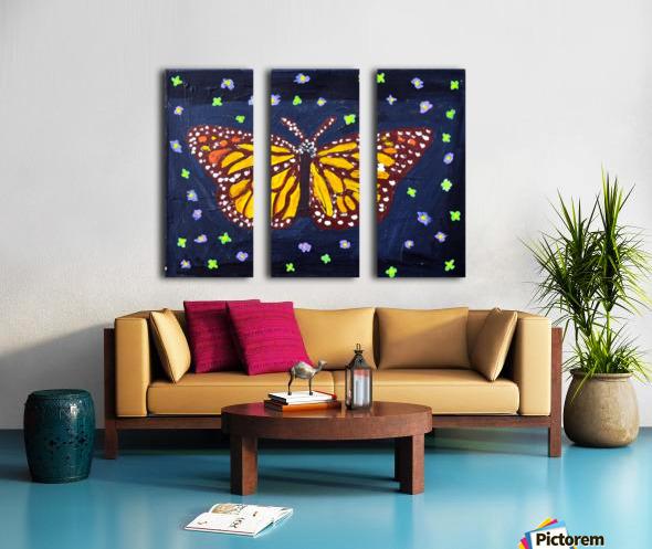 Mariposa. Maggie Z Split Canvas print
