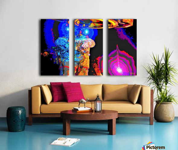 Exploring the Unknown by Neil Gairn Adams Split Canvas print