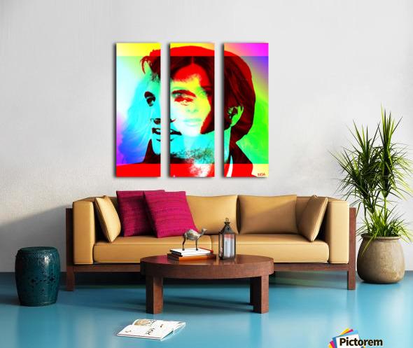Elvis -Always on my Mind by Neil Gairn Adams Split Canvas print