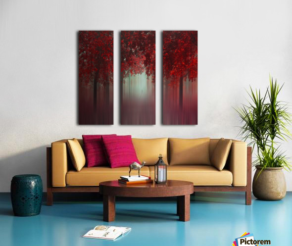 Out of Love Split Canvas print