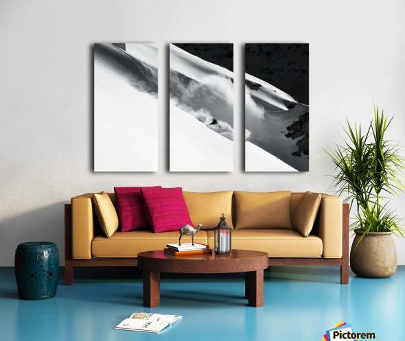 Cloud of Snow Split Canvas print