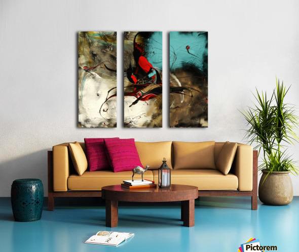 2478 - unbreakable Split Canvas print
