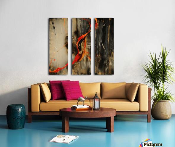 2841 - safe n sound Split Canvas print