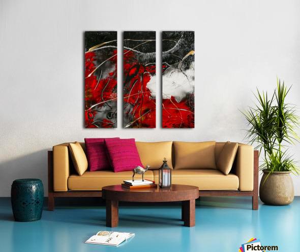 3011 - hold you Split Canvas print