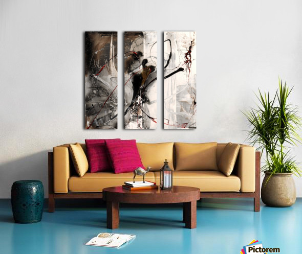 3396 stare at the window Split Canvas print