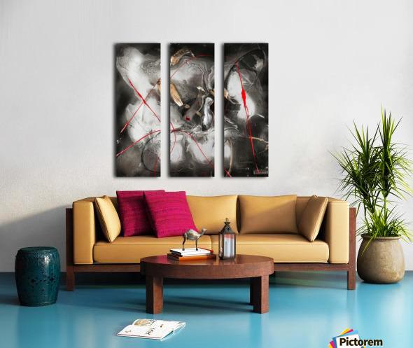 3208 - hot n spicy Split Canvas print