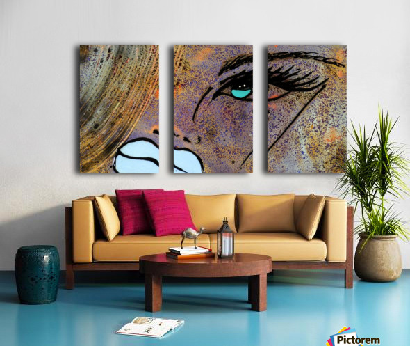 3364 - sapphiree Split Canvas print