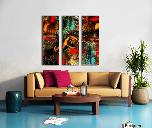 2633 majesta Split Canvas print