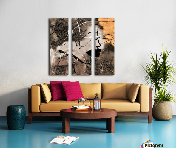 3740 - you must say Split Canvas print
