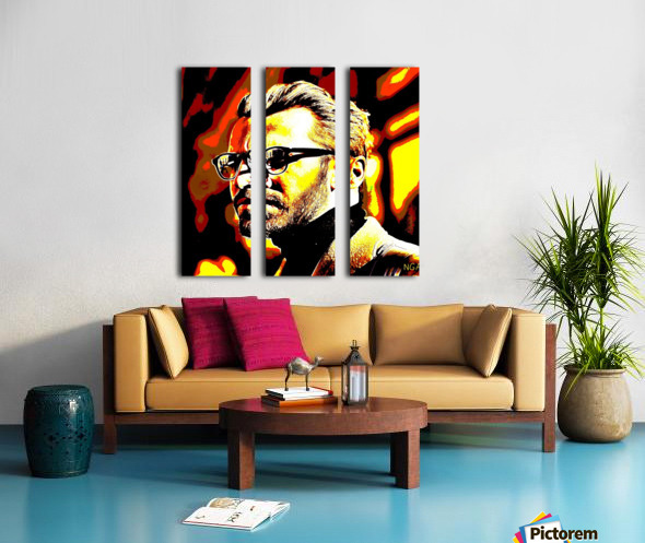 Mystery Man  2 -  by Neil Gairn Adams Split Canvas print
