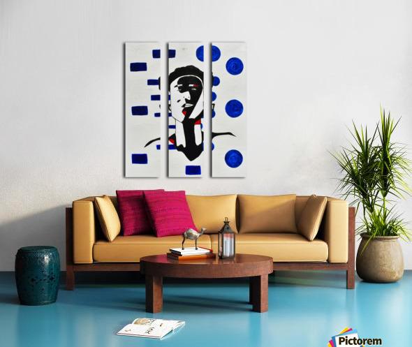 Kate C. Mirror Split Canvas print
