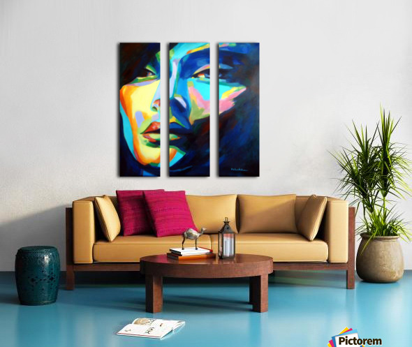 DESIRES AND ILLUSIONS PAINTING Split Canvas print