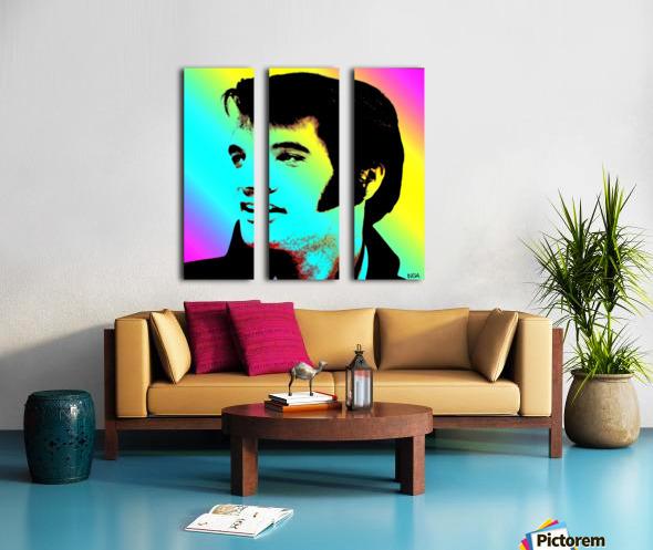 Elvis Presley -  by Neil Gairn Adams Split Canvas print
