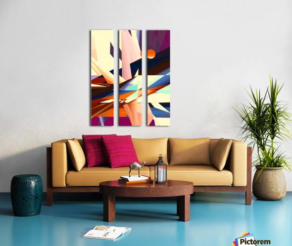 sunrise 19d1019 Split Canvas print