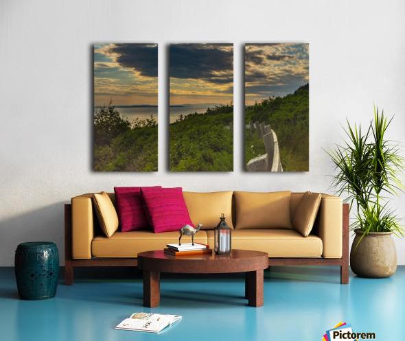 Holiday pleasure Split Canvas print