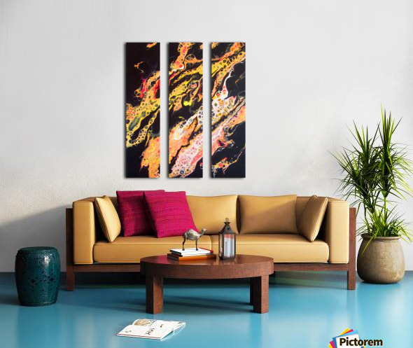 Burning Desire Split Canvas print
