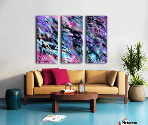 Energy Split Canvas print