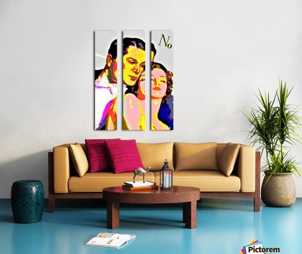 Voulez Vous Couchez Avec Moi - by Neil Gairn Adams Split Canvas print
