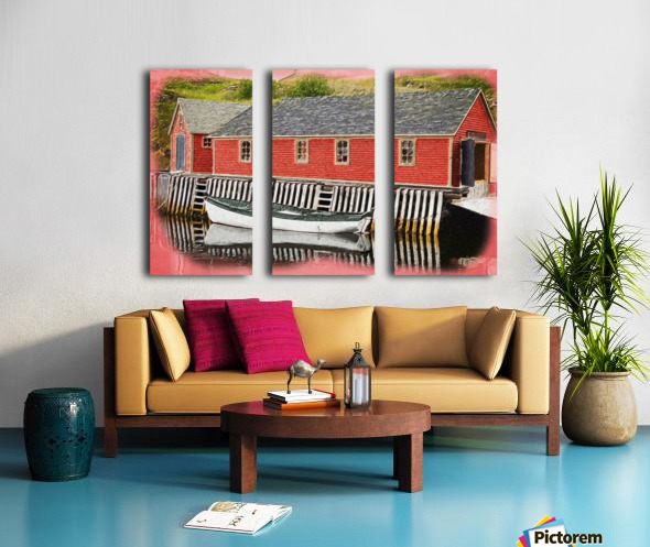 TrinityBayMPart Split Canvas print