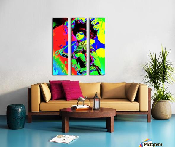 Lady with Parasol - by Neil Gairn Adams  Split Canvas print