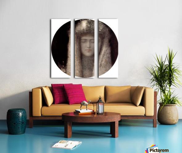 Silence by Odilon Redon Split Canvas print