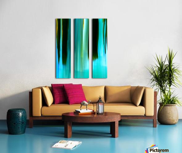 Moving Trees 40 Portrait Format 250px Split Canvas print