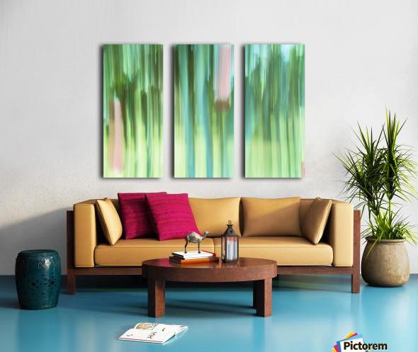 Moving Trees 04 Landscape 52-70 Split Canvas print