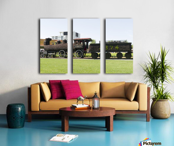 CPR train 374 Split Canvas print