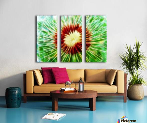 222808 dandelion Split Canvas print
