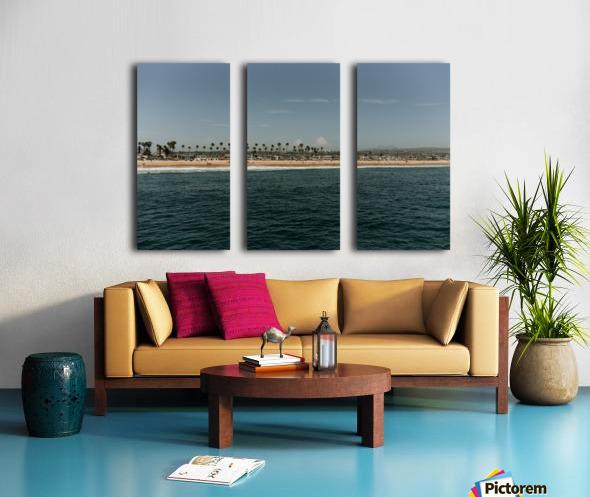 Newport Beach California Split Canvas print