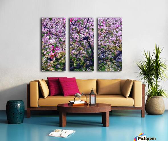 Cherry Tree Split Canvas print