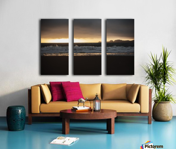 San Francisco Sunset Split Canvas print